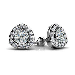 Jewelry - 3.50 Ct Brilliant cut round cut diamonds lady Stud